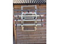 Excellent motorhome bike rack with no lifting required. Suitable for all types of motorhomes.