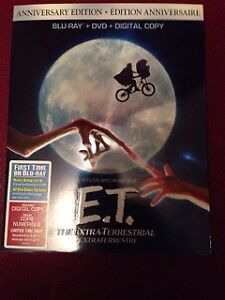 E.T.The Extra-Terrestrial (Anniversary Edition) Blu-ray+DVD New