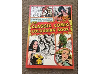 Adult colouring book - comic