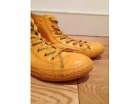 Rubber Converse High Tops Size 2.5
