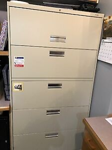 HON Lateral File, 5 Drawers Filing Cabinet
