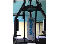 Marcy Vertex 3 multigym with leg lift and leg press attachments - great compact package