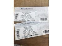 x2 Maccabees tickets, Alexandra Palace, Thursday 29th June, £77