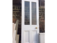 Panelled Door removed from Victorian House -30 w x 81 inches high .Free