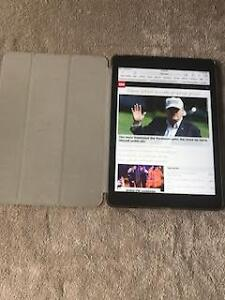 "Apple Air 1 - 9.7""  32gb iPad. WIFI + CELL Grey 2 Cases Charger"