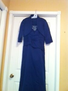 navy blue dress outfit