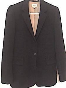 Wilfred blazer in charcoal grey, size 4:  New condition