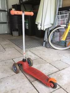 Micro Mini Scooter WITH PULL STRAP - Red - Great Condition!! Redfern Inner Sydney Preview