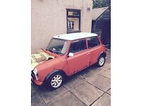 WANTED parts for rover mini cooper 1997