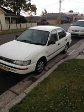 1998 Toyota Corolla Sedan Newcastle 2300 Newcastle Area Preview