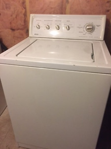 Washer/Dryer pair: Top loader washer and HE front loader Dryer