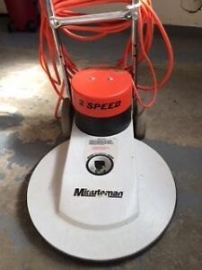 Minuteman 2 speed floor polisher