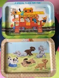 Vintage Pound Puppy Get Along Gang TV Trays
