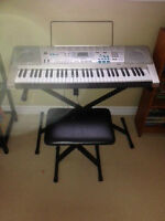 Light-up Casio keyboard for sale!!