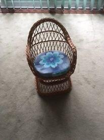 Wicker Children's Chair