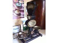 Original Art Deco scales.