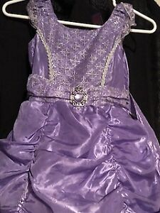 SOFIA THE FIRST COSTUME/DRESS UP DRESS SIZE 5-6