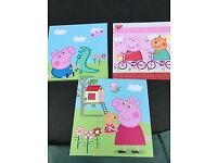 For Sale - Peppa Pig picture set