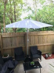 2.7m BBQ Outdoor Market Umbrella NEW IN BOX Water Proof UV Protec Caboolture Caboolture Area Preview