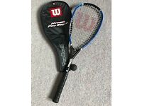 Squash Racquet. Wilson Hyper Pro Staff. Cover included.
