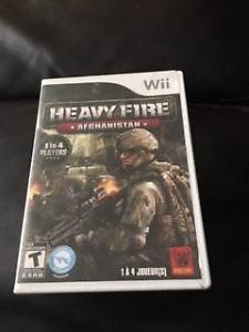 Heavy Fire Afghanistan Wii Game