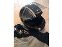 Various Motorbike clothing items for sale. TCX, Schuberth, ARMR, Hein Gerricke