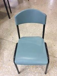 FREE Old School Chairs (light green) Summer Hill Ashfield Area Preview