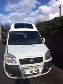 Beautiful high top DOBLO, excellent condition. mot till Nov.Versatile, good runner . DVD/CD/USB.