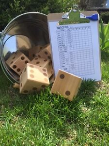 Outdoor Yahtzee!