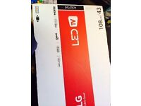 Factory sealed LG TV, 43' LED TV (model 43LF54). Sells for around £300 at major retailers
