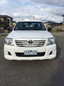 Toyota Hilux 2011 2.7 for Hire + sub-contract work with Kings Dandenong South Greater Dandenong Preview