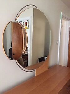 Solid wood dresser, mirror and night table