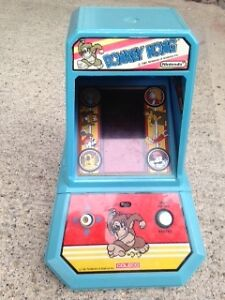 Donkey Kong Table Top Mini Arcade Game By Nintendo