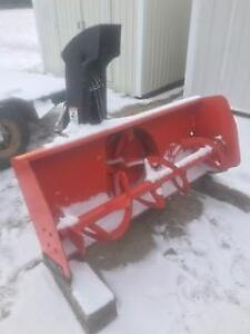 "Kubota 3 point hitch 55"" snow blower"