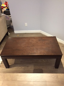 Console and coffee table