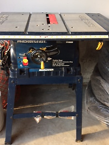 Mastercraft Table Saw for sale