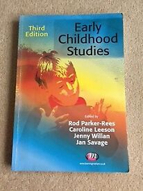 Text Books for Early Childhood Studies degree course
