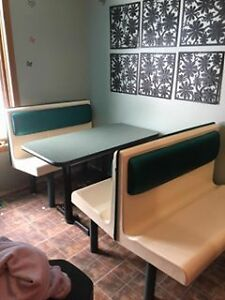 Vintage Style 50s Booths and Table
