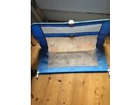 Lindam Easy Fit Bed Guard in Blue - in used but clean and tidy condition
