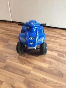 Toddler ride on quad