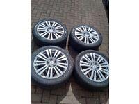 Mercedes Benz C,E CLass Alloy rims and tyres