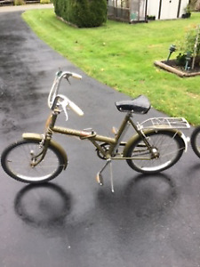 Raleigh and Phillips folding Bikes