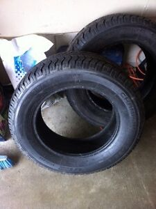 Pair of champiro directional winter tires 215/65/R16