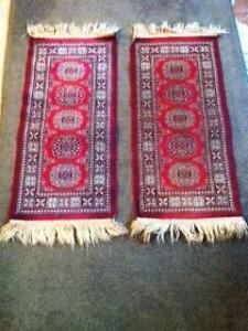 2 Red and Dark Blue Persian Inspired Floor Rugs Matraville Eastern Suburbs Preview