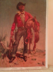 Juneo signed juneo picture cowboy october 1956