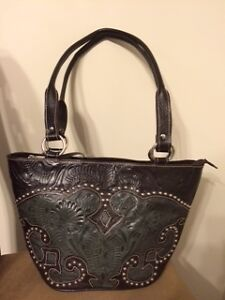 Womens Western Leather handbag half the first asking price