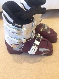 Children's Ski Boots - (36/3 worn when normal shoe size 35/2)