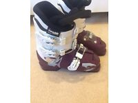 Children's Ski Boots - (36/3 worn when normal shoe size 35/2)