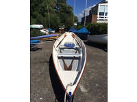Rowing SKIFF. with trailer(s), cover, oars - for sale