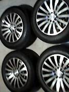 mag wheels and tyres Blairmount Campbelltown Area Preview